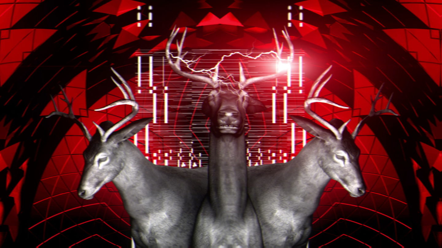 vj video background Drei-Red-Deer-Vj-Loop-LIMEART_003