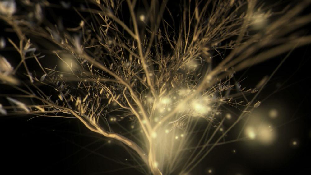 vj video background Gilded-Tree-LIMEART-VJ-Loop_003