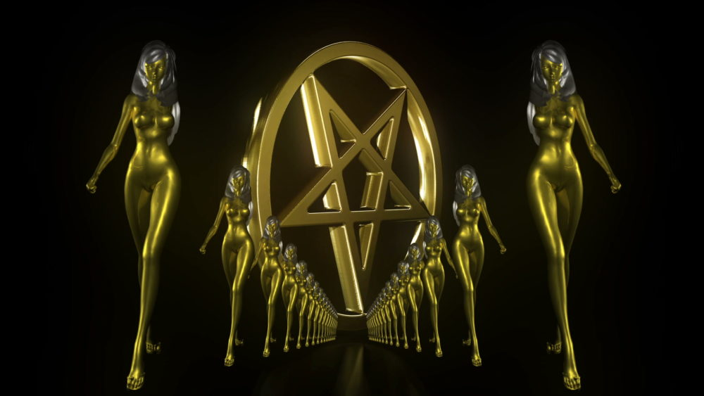 vj video background Gold-Evil-Girl-Vj-Loop-LIMEART_003