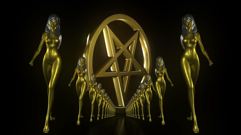 vj video background Gold-Evil-Girl-Vj-Loop-LIMEART_003