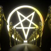 Gold-Evil-Girl-Vj-Loop-LIMEART_005 VJ Loops Farm - Video Loops & VJ Clips