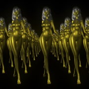 Goldfrau-Gold-Army-LIMEART-R1_1_001 VJ Loops Farm - Video Loops & VJ Clips