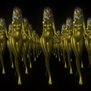 Goldfrau-Gold-Army-LIMEART-R1_1_006 VJ Loops Farm - Video Loops & VJ Clips