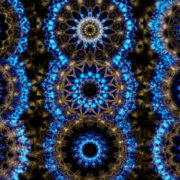 Gothic-Blue-Kaleido-LIMEART-VJ-Loop VJ Loops Farm - Video Loops & VJ Clips