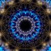vj video background Gothic-Blue-Kaleido-LIMEART-VJ-Loop_003