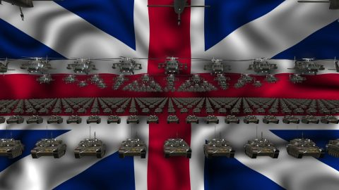 vj video background Great-Britain-Army-Flag-LIMEART-VJ-Loop_003