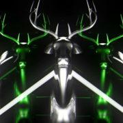 Green-Deer-Vj-Loop-LIMEART-FullHD_1_001 VJ Loops Farm - Video Loops & VJ Clips