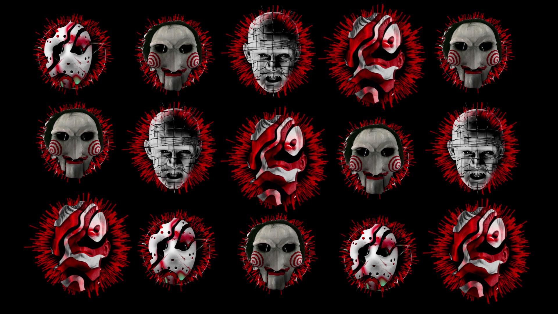 Hell Texture Z1 Vj Loop Full Hd Halloween Horror Visuals