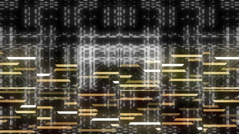 vj video background Minimal-White-Background-V4-Gold_003