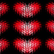 Polygonal-Heartbeat-Symbol-LIMEART VJ Loops Farm - Video Loops & VJ Clips