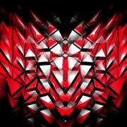 Polygonal-Heartbeat-Symbol-LIMEART_001 VJ Loops Farm - Video Loops & VJ Clips