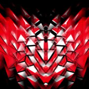 Polygonal-Heartbeat-Symbol-LIMEART_002 VJ Loops Farm - Video Loops & VJ Clips