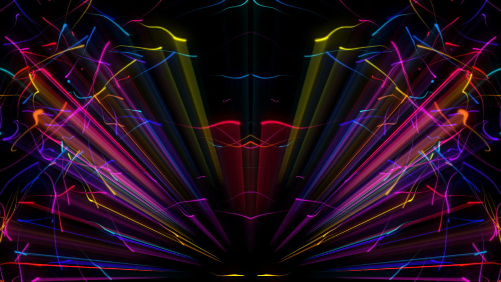 vj video background Rainbow-Waves-FullHD-VJ-Loop-LIMEART_003