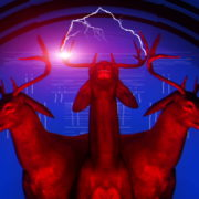 Red-Deer-LIMEART-FullHD-Vj-Loop_001 VJ Loops Farm - Video Loops & VJ Clips