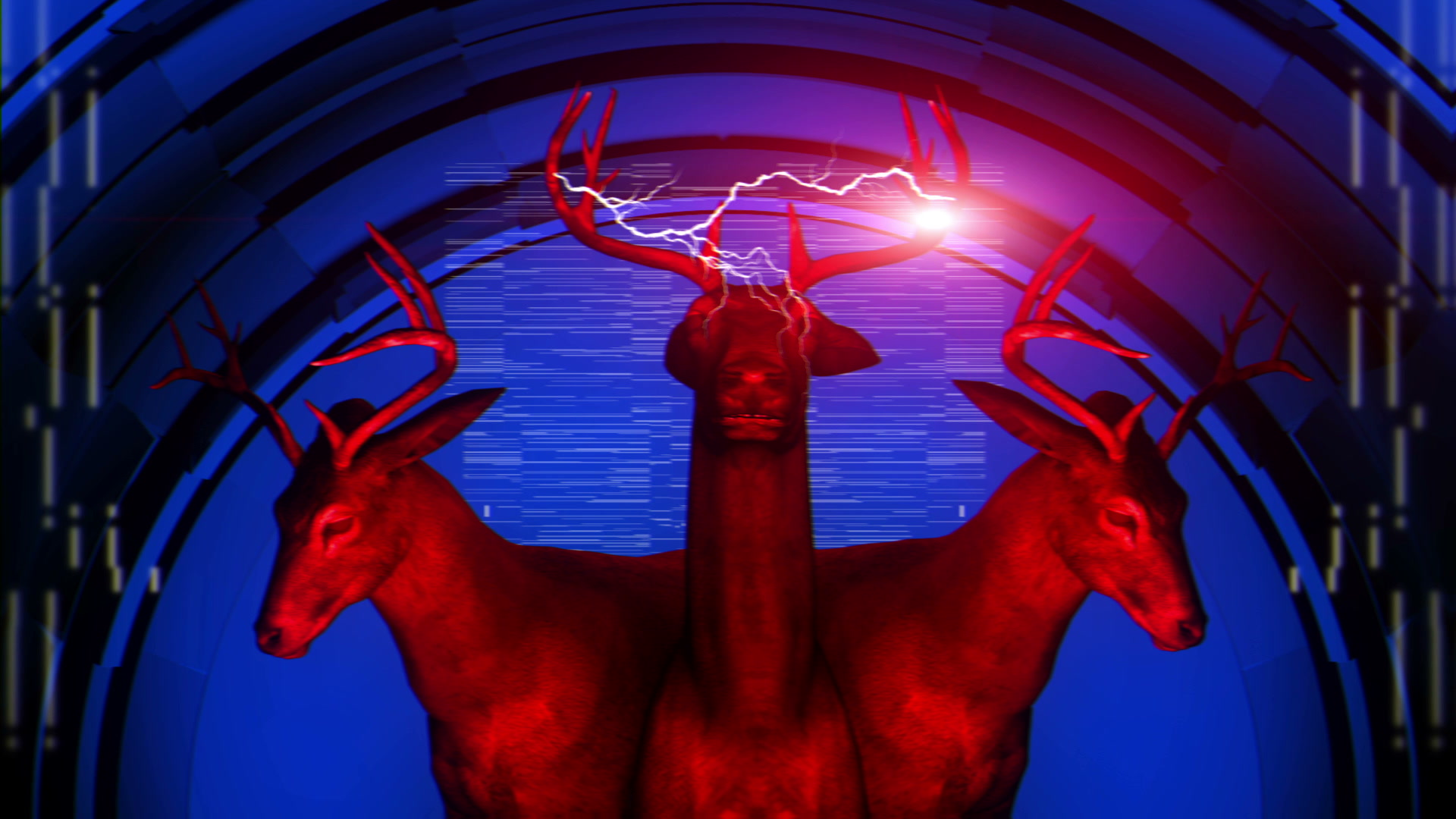 vj video background Red-Deer-LIMEART-FullHD-Vj-Loop_003
