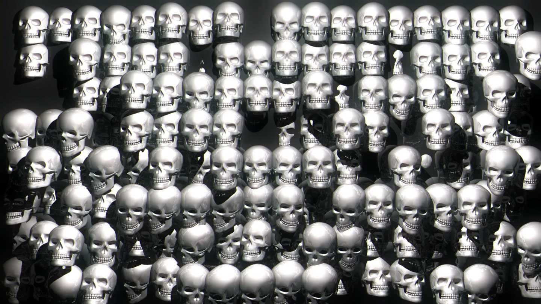 Skull-Extrude-Full-HD-Vj-Loop-LIMEART_001 VJ Loops Farm - Video Loops & VJ Clips