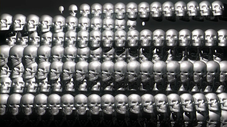Skull-Pattern-Short-Vj-Loop-Full-HD_001 VJ Loops Farm - Video Loops & VJ Clips