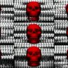 Skull-Shake-Red-Skull-Pattern-Short-Vj-Loop-Full-HD-LIMEART VJ Loops Farm - Video Loops & VJ Clips