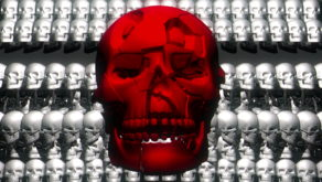 Skull-Shake-Red-Skull-Pattern-Short-Vj-Loop-Full-HD-LIMEART_001 VJ Loops Farm - Video Loops & VJ Clips