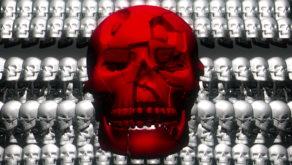 Skull-Shake-Red-Skull-Pattern-Short-Vj-Loop-Full-HD-LIMEART_001 VJ Loops Farm - Video Loops & VJ Clips