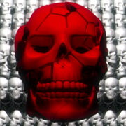 Skull-Shake-Red-Skull-Pattern-Short-Vj-Loop-Full-HD-LIMEART_003 VJ Loops Farm - Video Loops & VJ Clips