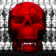 Skull-Shake-Red-Skull-Pattern-Short-Vj-Loop-Full-HD-LIMEART_004 VJ Loops Farm - Video Loops & VJ Clips