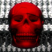 Skull-Shake-Red-Skull-Pattern-Short-Vj-Loop-Full-HD-LIMEART_007 VJ Loops Farm - Video Loops & VJ Clips