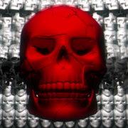 Skull-Shake-Red-Skull-Pattern-Short-Vj-Loop-Full-HD-LIMEART_008 VJ Loops Farm - Video Loops & VJ Clips