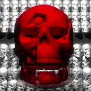 Skull-Shake-Red-Skull-Pattern-Short-Vj-Loop-Full-HD-LIMEART_009 VJ Loops Farm - Video Loops & VJ Clips