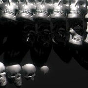Skull-Wall-FullHD-Vj-loop_002 VJ Loops Farm - Video Loops & VJ Clips
