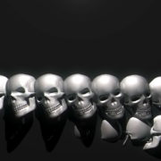 Skull-Wall-FullHD-Vj-loop_003 VJ Loops Farm - Video Loops & VJ Clips