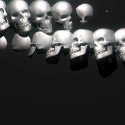 Skull-Wall-FullHD-Vj-loop_004 VJ Loops Farm - Video Loops & VJ Clips