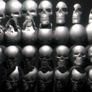 Skull-Wall-FullHD-Vj-loop_007 VJ Loops Farm - Video Loops & VJ Clips