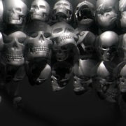 Skull-Wall-FullHD-Vj-loop_008 VJ Loops Farm - Video Loops & VJ Clips