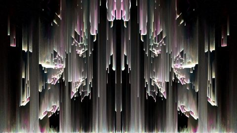 vj video background Tunnel-Rain-LIMEART-VJ-Loop_003