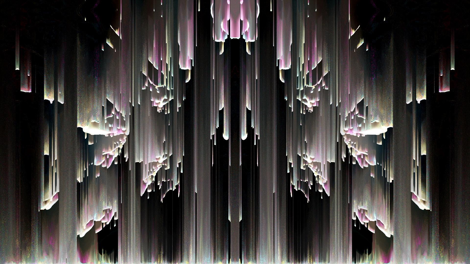 vj video background Tunnel-Rain-LIMEART-VJ-Loop_003
