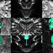 Cyan-Glitch-Light-VJ-Loop-LIMEART VJ Loops Farm - Video Loops & VJ Clips