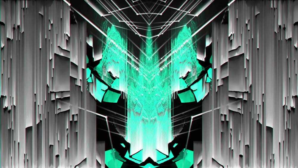 Cyan-Glitch-Light-VJ-Loop-LIMEART_004 VJ Loops Farm - Video Loops & VJ Clips
