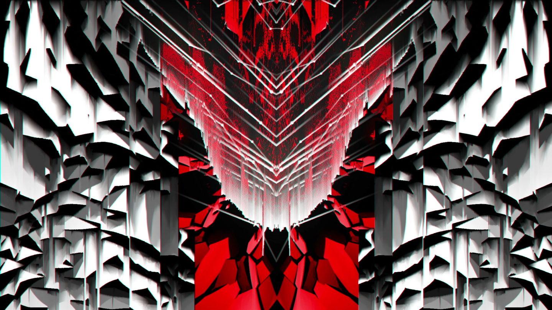 vj video background Flower-Stripe-Glitch-Vj-Loop-LIMEART_003