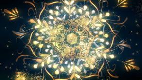 vj video background Gold-Snow-Ring-VJ-Loop-LIMEART_003