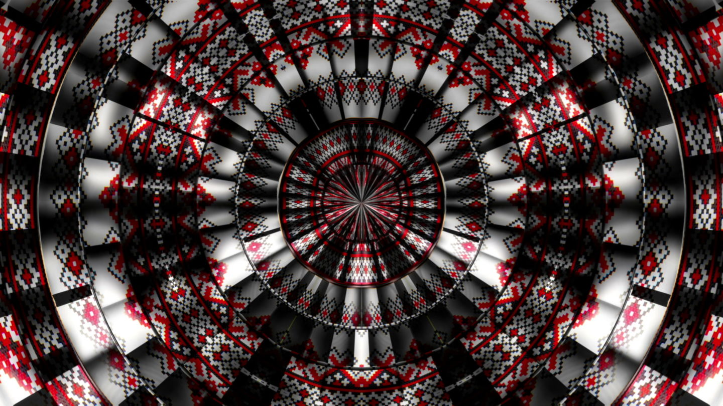 vj video background Ornament-Red-Shift-VJ-Loop-LIMEART_003