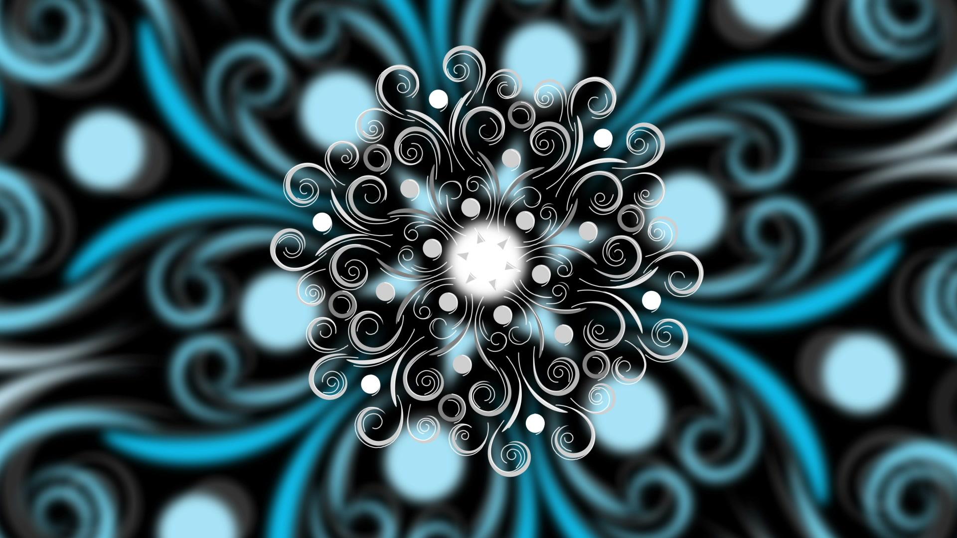 vj video background Snowflake-Ornarum-Floor-Vj-Loop-LIMEART_003