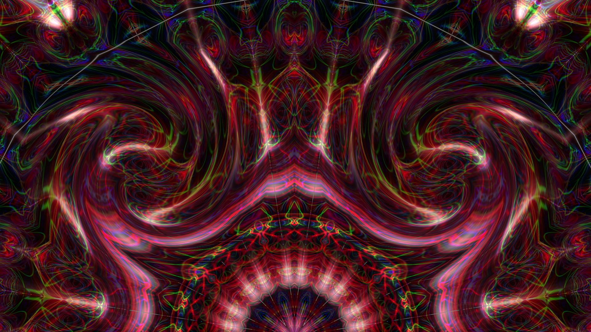 Tribal Twirl - VJ Loop  Download 60fps Full HD Visuals