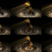 Nefertiti-Gold-Pool-Vj-Loop-LIMEART VJ Loops Farm - Video Loops & VJ Clips