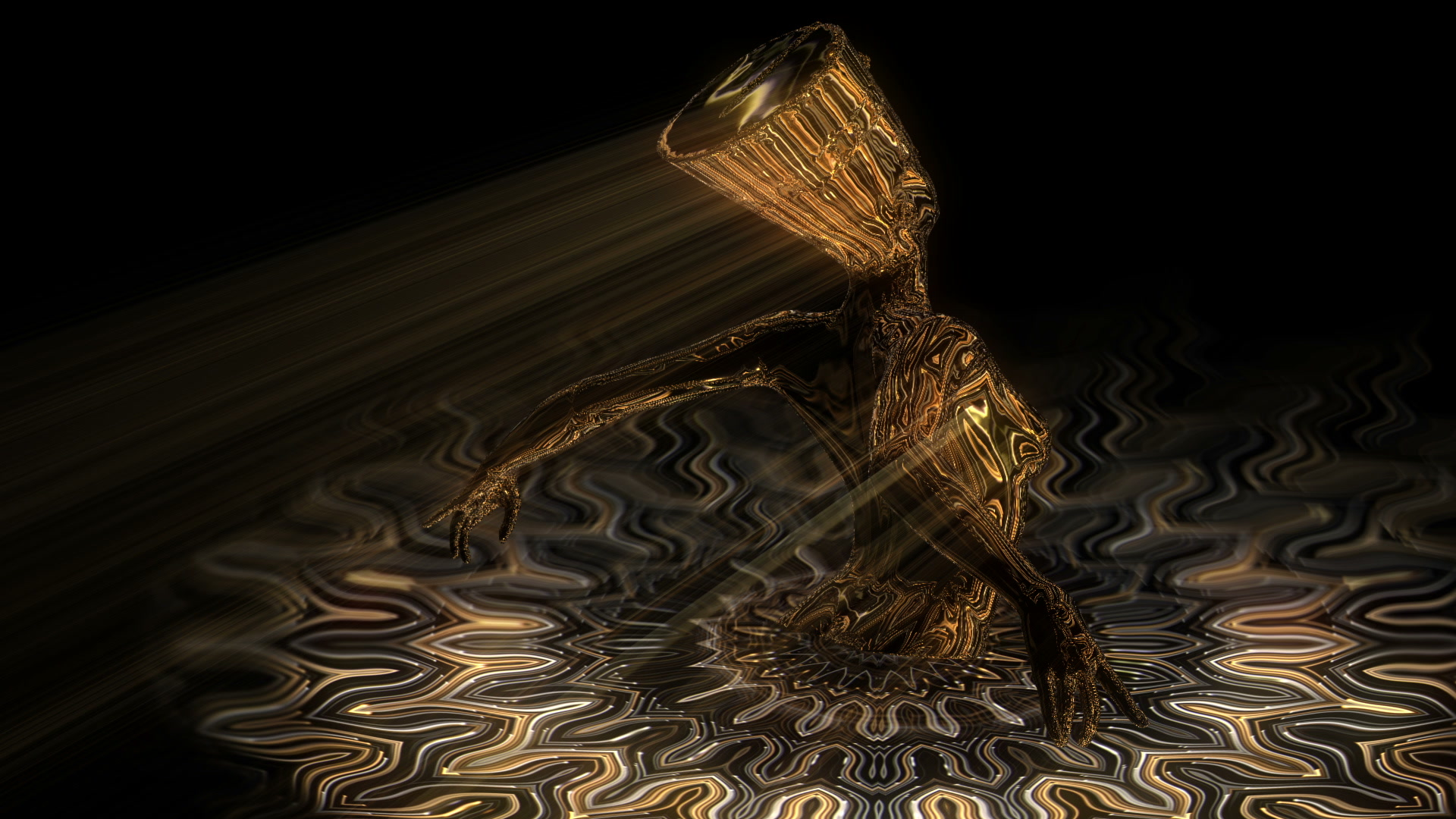 Nefertiti-Gold-Pool-Vj-Loop-LIMEART_004 VJ Loops Farm - Video Loops & VJ Clips