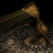 Nefertiti-Gold-Pool-Vj-Loop-LIMEART_005 VJ Loops Farm - Video Loops & VJ Clips