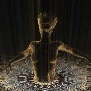 Nefertiti-Gold-Rays-Vj-Loop-LIMEART_001 VJ Loops Farm - Video Loops & VJ Clips