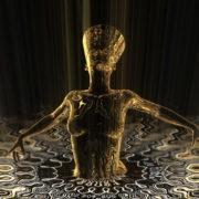 Nefertiti-Gold-Rays-Vj-Loop-LIMEART_002 VJ Loops Farm - Video Loops & VJ Clips