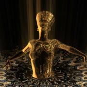 Nefertiti-Gold-Rays-Vj-Loop-LIMEART_004 VJ Loops Farm - Video Loops & VJ Clips