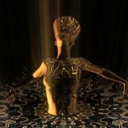 Nefertiti-Gold-Rays-Vj-Loop-LIMEART_005 VJ Loops Farm - Video Loops & VJ Clips